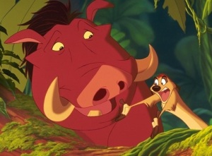 The Lion King: Pumbaa and Timon